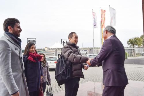 Visit оф the Deputy Ambassador of Japan in Macedonia